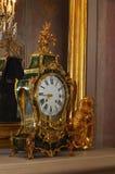 Rocznika zegar w Rundale pałac Obraz Royalty Free