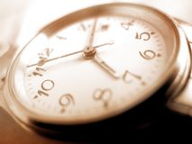 rocznika zegarek zdjęcia stock