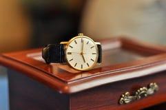Rocznika zegarek zdjęcia royalty free