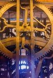Rocznika zegarowy mechanizm w katedrze - Amsterdam holandie Fotografia Royalty Free