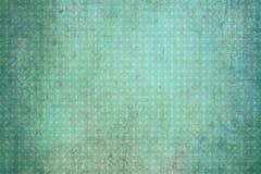 Rocznika zielony geometrical tło z okręgami Obrazy Royalty Free