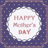 Roczników Mothers Szczęśliwy dzień Fotografia Stock