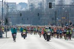 Roczny Berliński Przyrodni maraton berlin Niemcy Fotografia Royalty Free