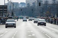 Roczny Berliński Przyrodni maraton berlin Niemcy Fotografia Stock