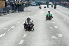 Roczny Berliński Przyrodni maraton berlin Niemcy Zdjęcie Stock
