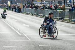 Roczny Berliński Przyrodni maraton berlin Niemcy Zdjęcia Stock