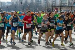 Roczny Berliński Przyrodni maraton berlin Niemcy Obraz Royalty Free