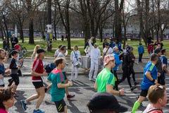 Roczny Berliński Przyrodni maraton berlin Niemcy Zdjęcie Royalty Free