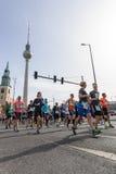 Roczny Berliński Przyrodni maraton berlin Niemcy Zdjęcia Royalty Free