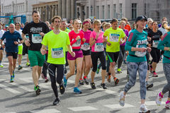 Roczny Berliński Przyrodni maraton berlin Niemcy Obrazy Stock