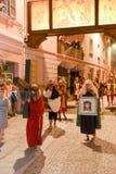 Roczny korowód krzyżowanie jezus chrystus przy Easter Zdjęcie Royalty Free