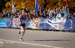 Roczny Miasto Nowy Jork maraton obraz royalty free