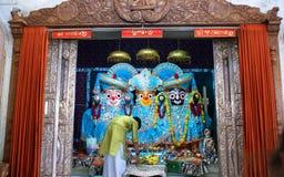 Roczny rydwanu festiwal Raathyatra, Ahmedabad, India obrazy stock