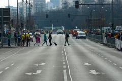 Roczny 37th Berliński Przyrodni maraton Zdjęcia Stock