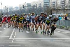 Roczny 37th Berliński Przyrodni maraton Obraz Royalty Free