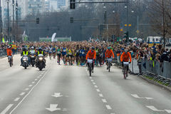 Roczny 37th Berliński Przyrodni maraton Fotografia Stock