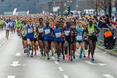 Roczny 37th Berliński Przyrodni maraton Obrazy Royalty Free