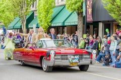 Roczny UFO festiwal w McMinnville Oregon Fotografia Royalty Free