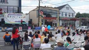 2015 rocznych India dnia parad w Edison, Nowym - bydło Fotografia Royalty Free