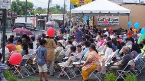 2015 rocznych India dnia parad w Edison, Nowym - bydło Zdjęcie Royalty Free