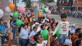 2015 rocznych India dnia parad w Edison, Nowym - bydło Fotografia Stock