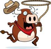 Rodéo Bull illustration libre de droits