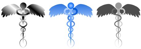 Rod of Asclepius Stock Photography