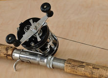 Rod and Baitcasting Reel Stock Photos