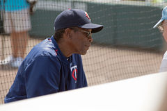 Rod Carew of the Minnesota Twins Royalty Free Stock Photo