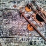Rod do cabo feito pela madeira Fotos de Stock