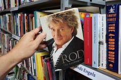 Rod: L'autobiografia Fotografia Stock Libera da Diritti