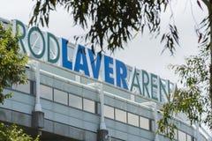 Rod Laver Arena imagen de archivo libre de regalías
