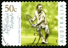 Rod Laver Australian Postage Stamp fotos de stock royalty free