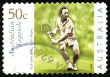Rod Laver Australian Postage Stamp foto de stock
