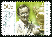 Rod Laver Australian Postage Stamp Royalty Free Stock Image
