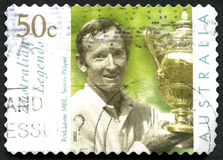 Rod Laver Australian Postage Stamp Royalty Free Stock Photography