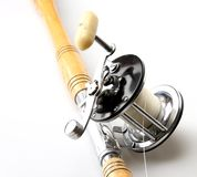 Rod and Reel Stock Image