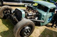 Rod Samochodowi zwyczaje Odessa na Starej samochód ziemi obrazy stock