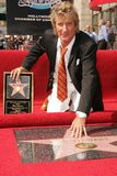 Rod Stewart. At the Ceremony Honoring him with a star on the Hollywood Walk of Fame. Hollywood Boulevard, Hollywood, CA. 10-11-05 stock images