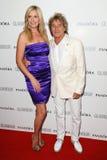 Rod Stewart und Frau, Penny Lizenzfreie Stockbilder