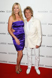 Rod Stewart and wife, Penny Royalty Free Stock Images