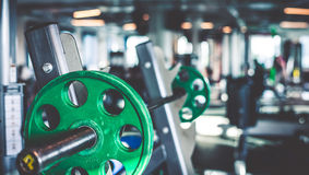 Free Rod With Weights Stock Photo - 57446620