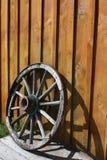 Roda abandonada Foto de Stock