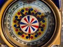 Roda afortunada da rotação Fotos de Stock Royalty Free