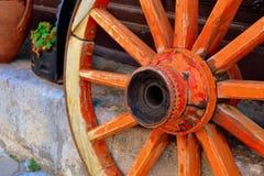 Roda antiga foto de stock