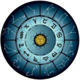 Roda astral ilustração stock