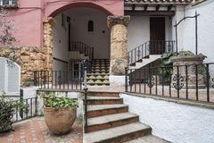 Roda Bera, Catalonia, Spanien Royaltyfria Bilder
