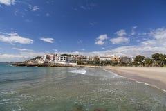 Roda Bera, Catalonia, Spanien Arkivfoto