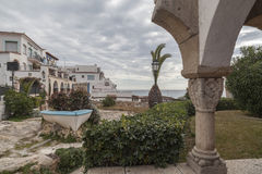 Roda Bera, Catalonia, Spanien Arkivfoton