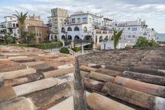 Roda Bera, Catalonia, Spanien Royaltyfria Foton